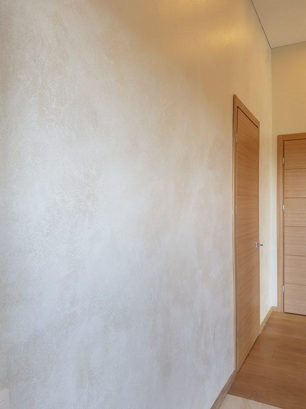 Sienų dažymas dekoratyviniais dažais